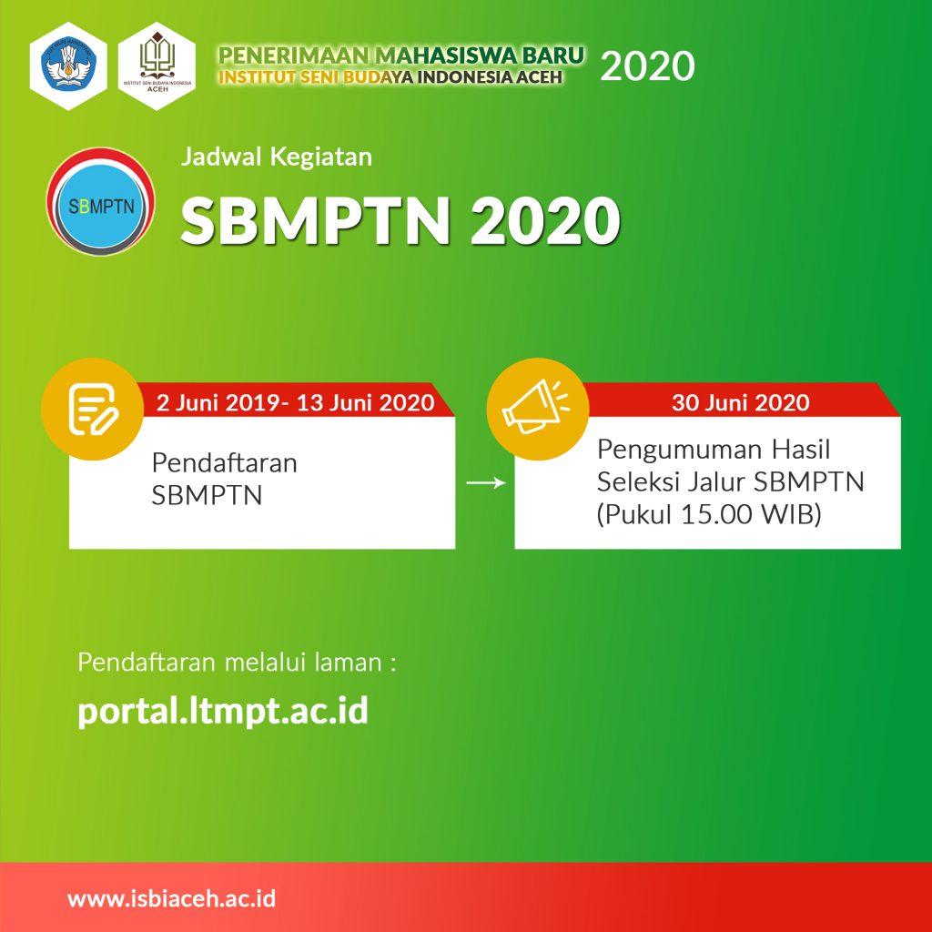 Jadwal Kegiatan SBMPTN 2020