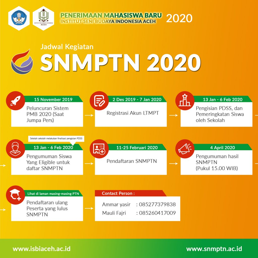 Info Pendaftaran SNMPTN 2020